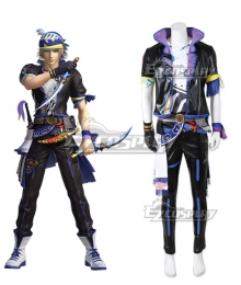 Dissidia Final Fantasy NT Locke Cole Cosplay Costume