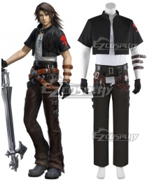 Dissidia Final Fantasy NT Squall Leonhart Kingdom Hearts Cosplay Costume