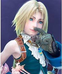 Dissidia Final Fantasy NT Zidane Golden Cosplay Wig