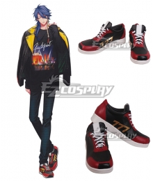 Division Rap Battle Arisugawa Daisu Black Cosplay Shoes