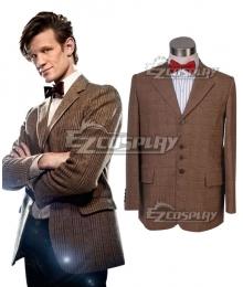 Doctor Who Matt Smith Coat and Bowtie Cosplay Costume