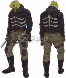 Dorohedoro Caiman Cosplay Costume