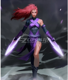 Dota 2 Ti10 The Disciple's Path Anti-Mage Female Anti Mage Cosplay Costume