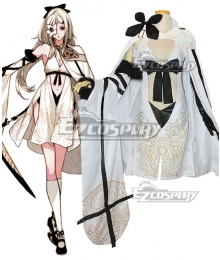 Drag On Dragoon 3 DOD3 Zero Cosplay Costume