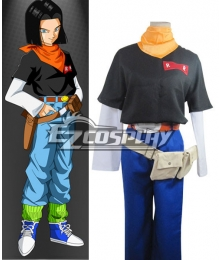 Dragon Ball Android 17 Lapis Cosplay Costume
