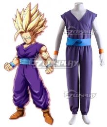 Dragon Ball Son Gohan Super Saiyan 2 Kid Cosplay Costume