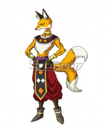 Dragon Ball Super 8th Universe Hakaishin Liquir Cosplay Costume