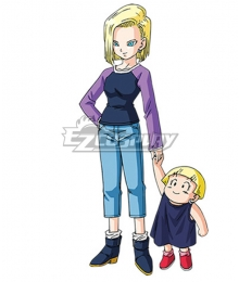 Dragon Ball Super Android 18 Normal Cosplay Costume