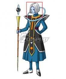 Dragon Ball Super Angel of Universe 9 Mojito Silver Cosplay Wig