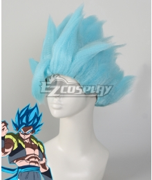 Dragon Ball Super: Broly Gogeta SSGSS Blue Cosplay Wig