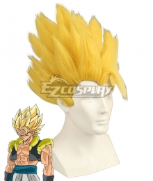 Dragon Ball Super: Broly Gogeta SSJ Golden Cosplay Wig