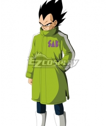 Dragon Ball Super: Broly Vegeta Cosplay Costume Only Coat