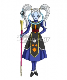 Dragon Ball Super Marcarita Cosplay Costume