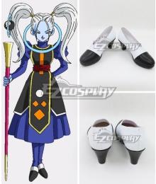 Dragon Ball Super Marcarita White Black Cosplay Shoes
