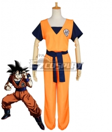 Dragon Ball Super Son Goku Cosplay Costume