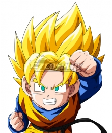 Dragon Ball Super Son Goten Super Saiyan Golden Cosplay Wig