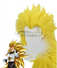 Dragon Ball Super Vegeta Super Saiyan 3 Golden Cosplay Wig
