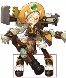 Dragon Nest Academic Brown Cosplay Shoes