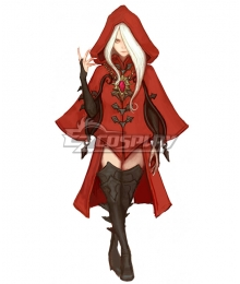Dragon Nest Argenta Red Cosplay Costume