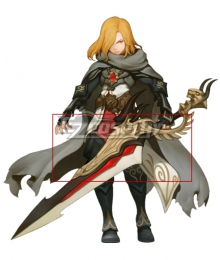 Dragon Nest Gerald Sword Cosplay Weapon Prop