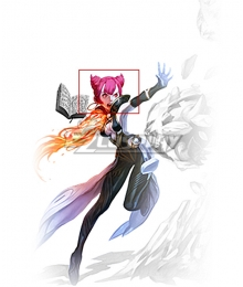 Dragon Nest Sorceress Pink Cosplay Wig