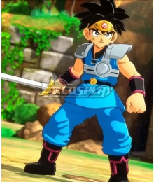 Dragon Quest: The Adventure of Dai Dai Blue Cosplay Costume