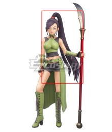 Dragon Quest XI S: Echoes of an Elusive Age Martina Jade Black Cosplay Wig