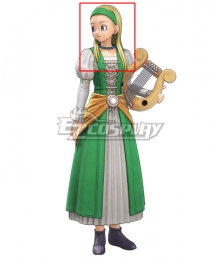 Dragon Quest XI S: Echoes of an Elusive Age Serena Golden Cosplay Wig
