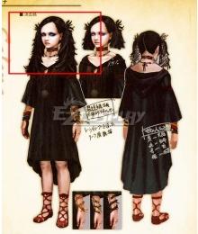 Dragon's Dogma Selene Black Cosplay Wig