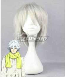 DRAMAtical Murder DMMD-Clear Silvery Gray Anime Cosplay Wig