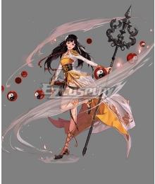 Dungeon Fighter Online Female Priest Awakening Shaman Cosplay Cosutme