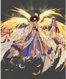 Dungeon Fighter Online Female Priest Crusader Second Awakening Seraph Cosplay Cosutme