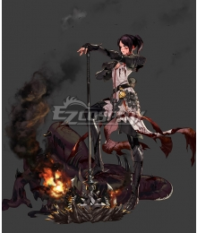 Dungeon Fighter Online Female Priest Inquisitor Cosplay Costume