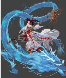 Dungeon Fighter Online Female Priest Second Awakening Divineress Cosplay Cosutme