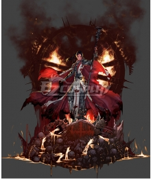 Dungeon Fighter Online Female Priest Second Awakening Inferno Cosplay Costume