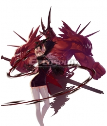 Dungeon Fighter Online Female Slayer Awakening Demonbane Cosplay Cosutme