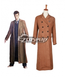 Doctor Who Dr. Brown Long Trench Coat