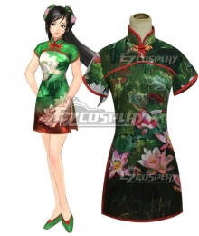Dynasty Warriors 8 Guan Yinping Cheongsam Cosplay Costume