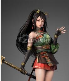 Dynasty Warriors 9 Guan Yinping Black Cosplay Wig