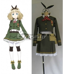 AntiMagic Academy The 35th Test Platoon Taimadou Gakuen 35 Shiken Shoutai Saionji Usagi Cosplay Costume