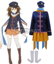 AntiMagic Academy The 35th Test Platoon Taimadou Gakuen 35 Shiken Shoutai Nikaido Mari Cosplay Costume