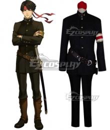 Ace Attorney Kazuma Asōgi Kazuma Asogi Cosplay Costume