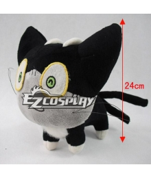 Stuffed Toy Inspired by Blue Exorcist Kuro Black Cat