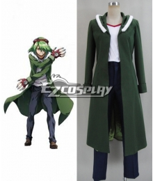 Akame Ga Kill! Night Raid Rabac Cosplay Costume-New Ver.