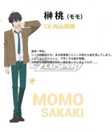 Anonymous Noise Fukumenkei Noise Momo Sakaki Cosplay Costume