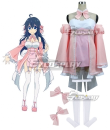 And you thought there is never a girl online? Ako Tamaki AKO Cosplay Costume