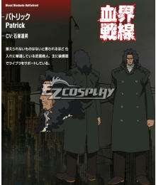 Blood Blockade Battlefront Patrick Cosplay Costume