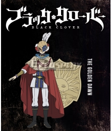 Black Clover William Vangeance Cosplay Costume