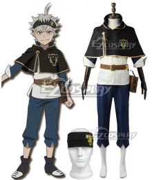 Black Clover Asta Cosplay Costume - New Edition
