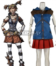 Borderlands Gaige Cosplay Costume - Only Top and Skirt